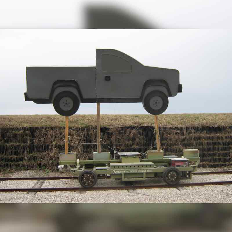 RT Truck Flank w/ Windshield